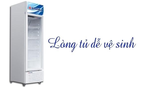 Mua tủ mát ở đâu tốt? Tủ mát Alaska LC-743H 450 lít