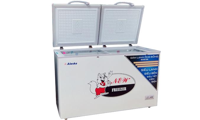 Tủ đông Alaska BCD-4568C tiện dụng