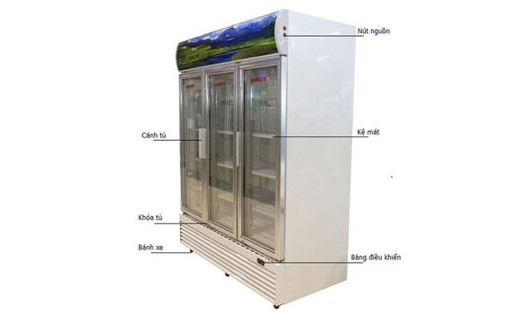 Tủ mát Sanaky VH-1520HP sở hữu độ bền cao