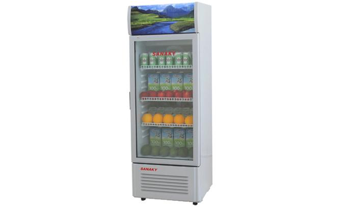 Tủ mát Sanaky VH-168K với dung tích 150 lít