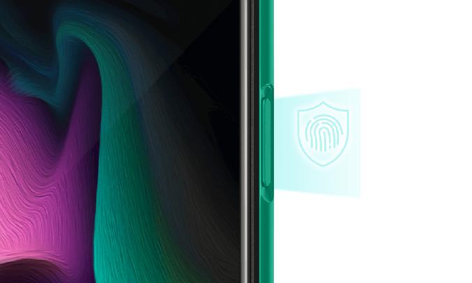 Điện thoại Vsmart Aris 8GB/128GB Lam Thủy Triều - Bảo mật 2 tính năng