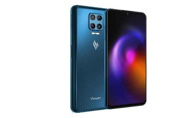Điện thoại Vsmart Aris 8GB/128GB Lam Thủy Triều - Bảo mật lượng tử Quantis QRNG