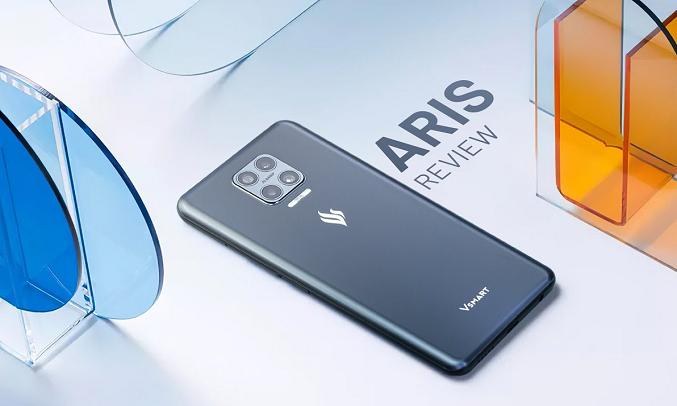 Điện thoại Vsmart Aris 8GB/128GB Lam Thủy Triều - Cụm 4 camera chuyên nghiệp