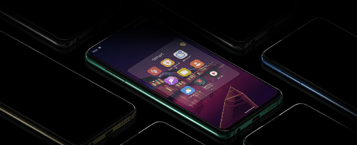 Điện thoại Vsmart Aris 8GB/128GB Lam Thủy Triều -Thiết kế sang trọng, tinh tế, thời thượng, nổi bật ngay cái nhìn đầu tiên