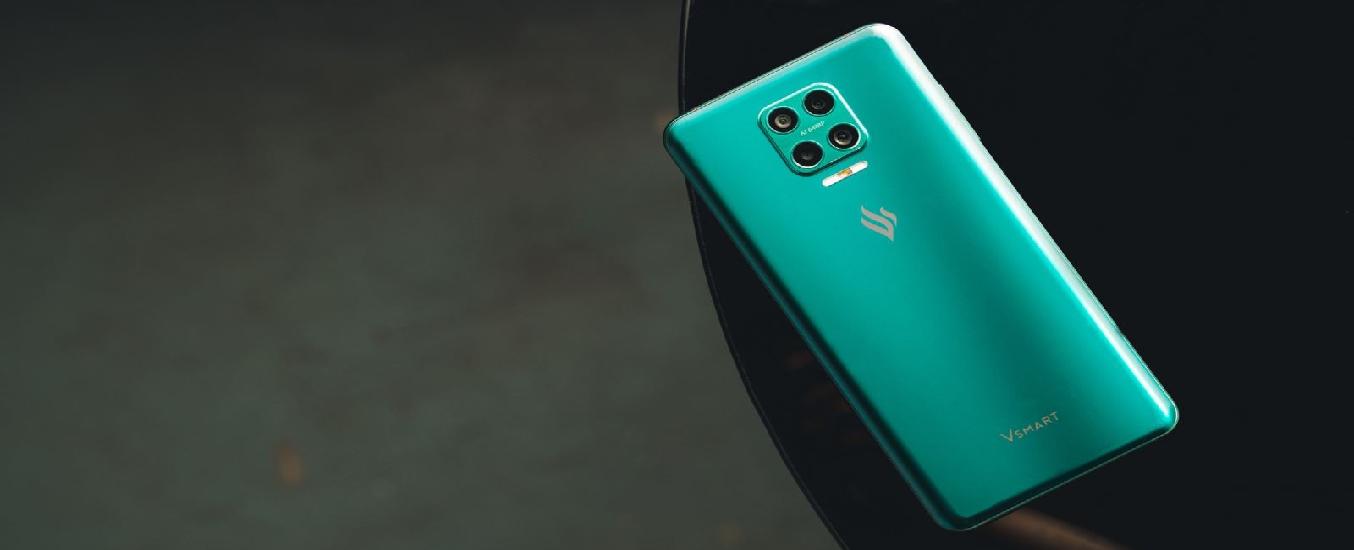 Điện thoại Vsmart Aris (6GB/64GB) Lục cực quang- Hiệu năng mạnh mẽ, xử lý mượt mà từ tác vụ nhẹ cho đến nặng nhất
