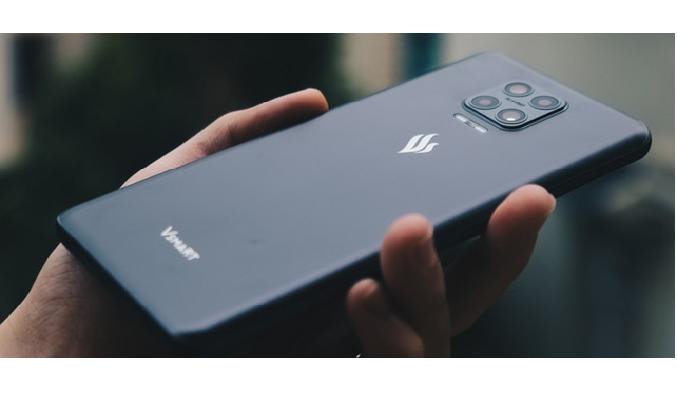 Điện thoại Vsmart Aris 8GB/128GB Xám Nhật Thực - Dung lượng pin 4000 mAh