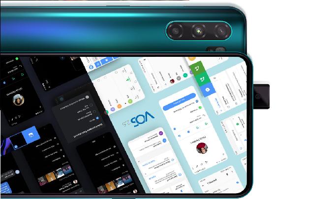 Điện thoại Vsmart Active 3 (6GB/64GB) Tím ngọc- Hệ điều hành VOS tối ưu cho người Việt