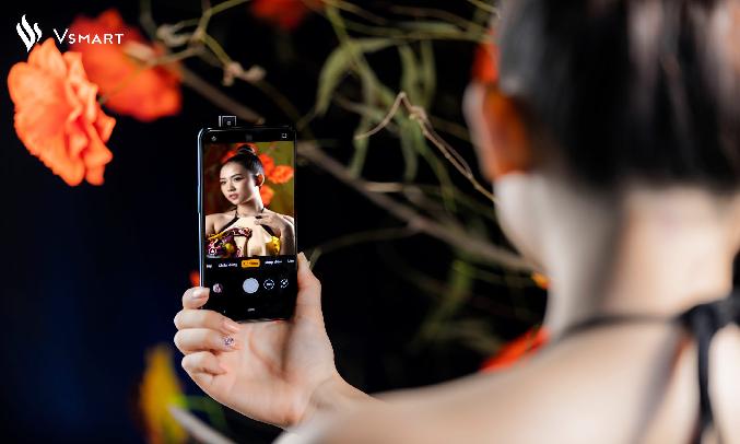 Điện thoại Vsmart Active 3 (6GB/64GB) Tím ngọc- Camera selfie 16 MP