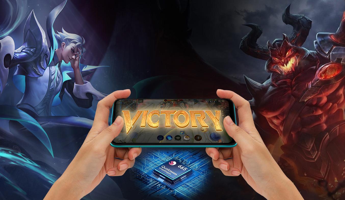 Điện thoại Vsmart Joy 4 (4GB/64GB) Xanh ngọc lam - Hiệu năng mạnh mẽ, đồ họa mượt mà, chiến tốt mọi tựa game