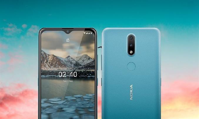 Điện thoại Nokia 2.4 Xanh - Bộ đôi camera sau bắt trọn mọi khoảnh khắc