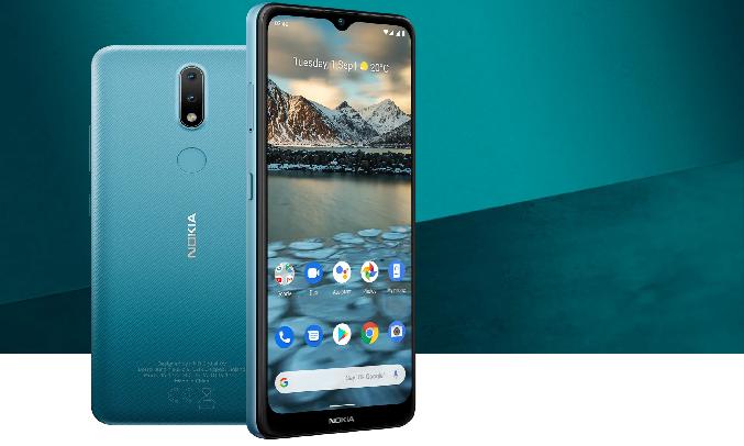 Điện thoại Nokia 2.4 Xanh - Lưu trữ thoải mái