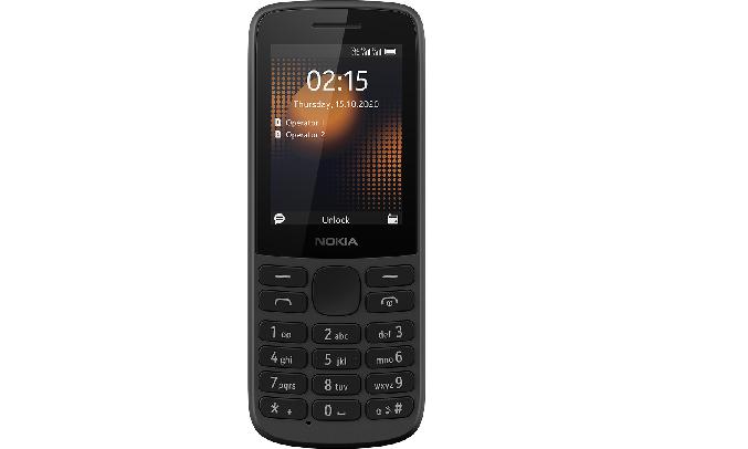Điện thoại Nokia 215 4G Đen - Trọng lượng siêu nhẹ, siêu bền