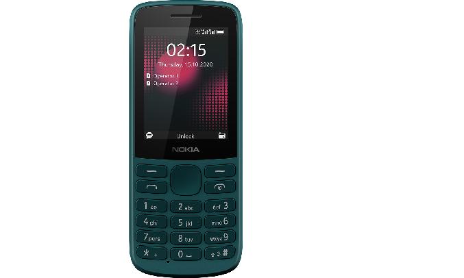 Điện thoại Nokia 215 4G Xanh - Màn hình 2.4 inch