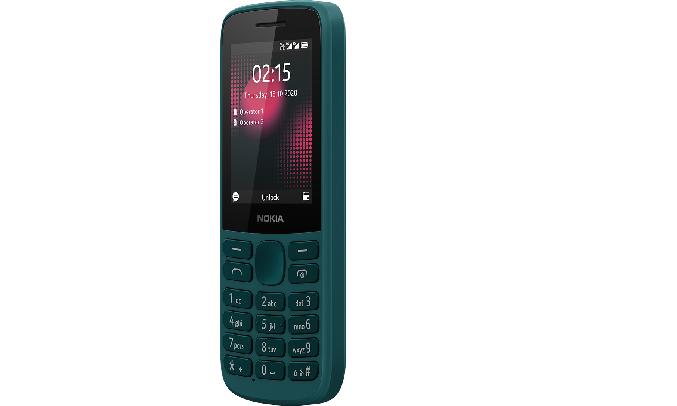 Điện thoại Nokia 215 4G Xanh - Trọng lượng siêu nhẹ, siêu bền
