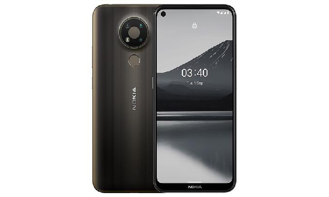 Điện thoại Nokia 3.4 4GB/64GB Xám - Cụm 3 camera AI