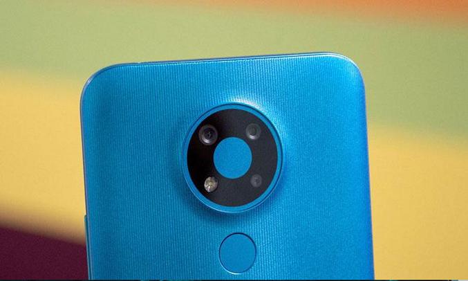 Điện thoại Nokia 3.4 4GB/64GB Xanh - Cụm 3 camera AI