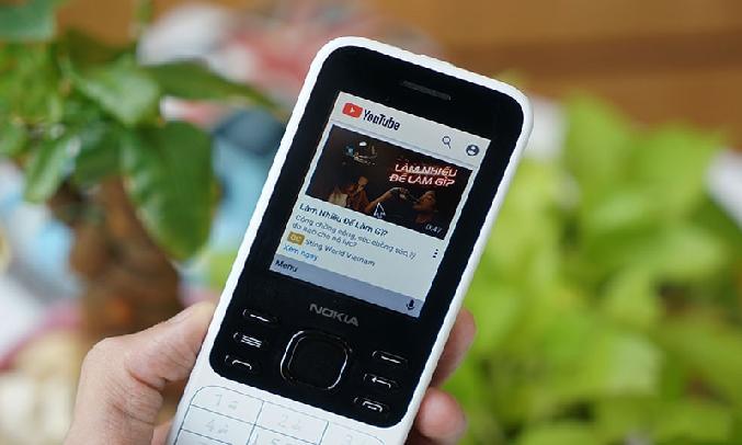 """Điện thoại Nokia 6300 4G Trắng - Thời lượng pin """"trâu"""""""