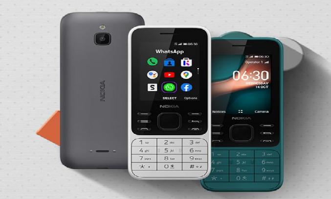 Điện thoại Nokia 6300 4G Trắng - Thiết kế cứng cáp, bền bỉ