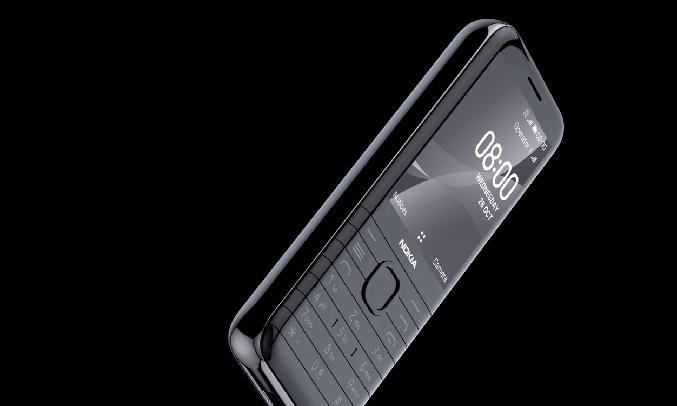 Điện thoại Nokia 8000 4G Đen - Đáp ứng nhu cầu giải trí