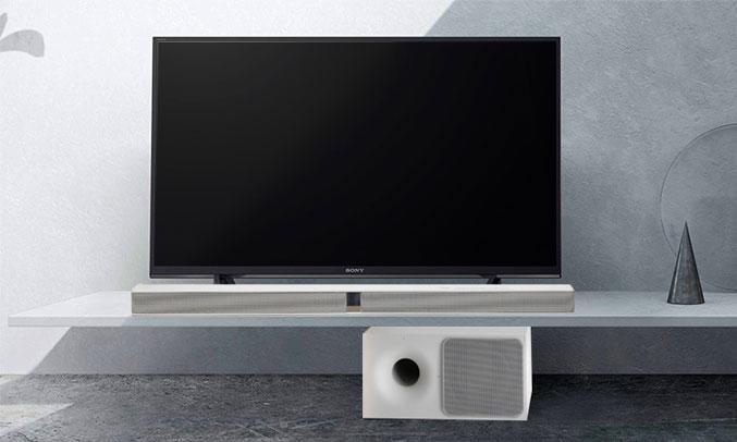 Dàn âm thanh Sound Bar Sony - HT-CT290/WM SP1 màu trắng trang nhã