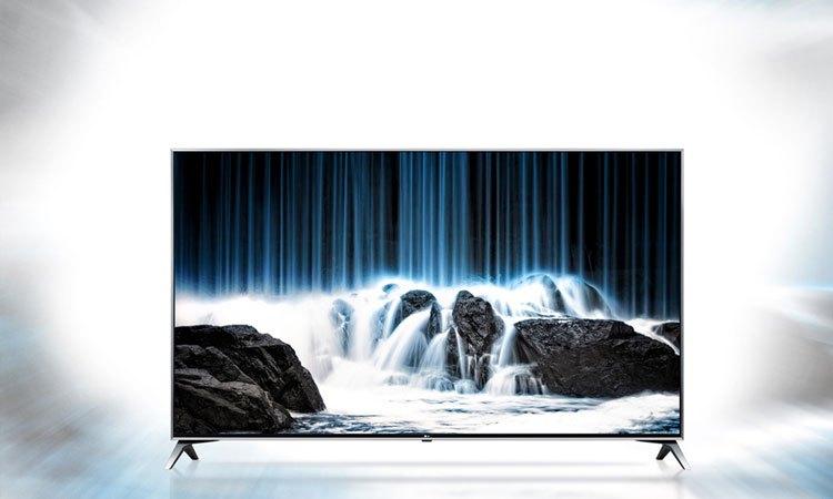 Thiết kế tinh tế, bắt mắt của Tivi 4K 43inch LG 43UJ750T