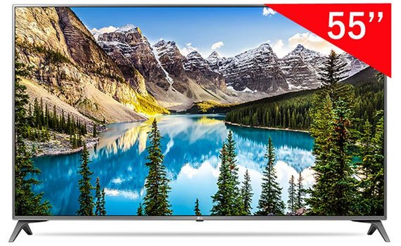 Thiết kế thanh mảnh, hiện đại và bắt mắt của Tivi 4K 55inch LG 55UJ750T
