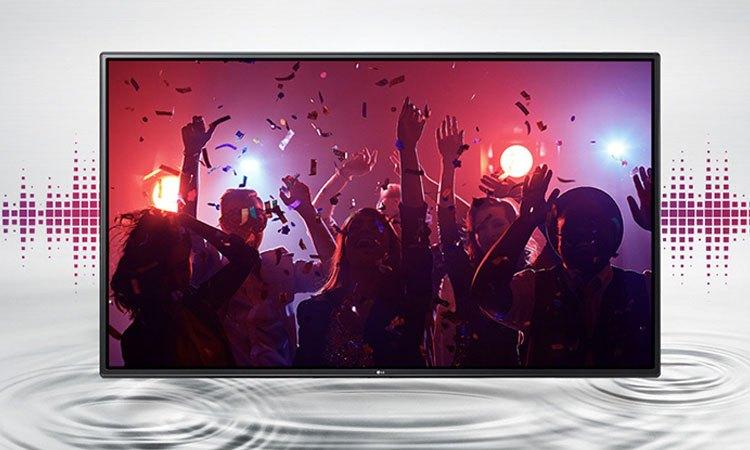 Công nghệ thể hiện âm thanh đầy sống động và chân thực trên Tivi 4K 65inch LG 65UJ750T