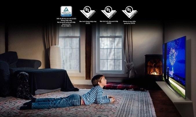Smart Tivi OLED LG 4K 55 inch OLED55C1PTB - Màn hình hiển thị dễ chịu cho mắt