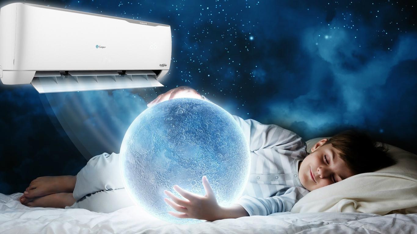 Máy lạnh Casper 1.5 HP SC-12TL32 cảm biến thân nhiệt i Feel