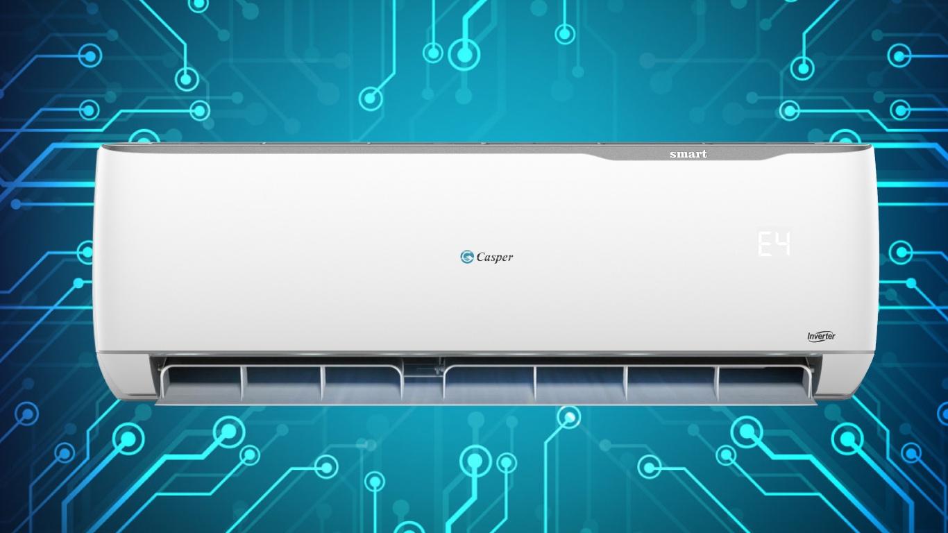 Máy lạnh Casper 1.5 HP SC-12TL32 cảnh đảo gió hình vây
