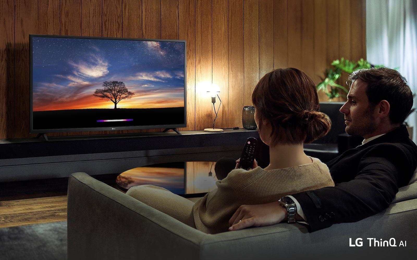 Smart Tivi LG 43 inch 43LM6360PTB - Trí thông minh mới phát triển bởi AI