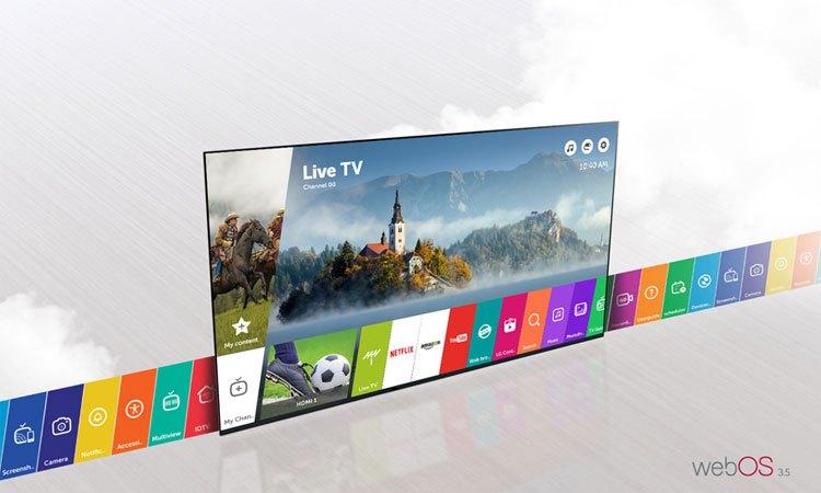 Smart Tivi LG 49 inch 49LJ550T có giao diện đơn giản