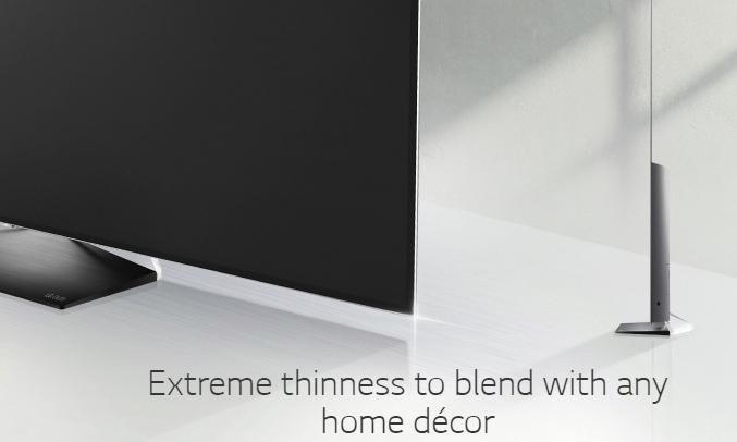 """Smart Tivi OLED LG 55"""" 55G9A7T thiết kế tinh tế"""