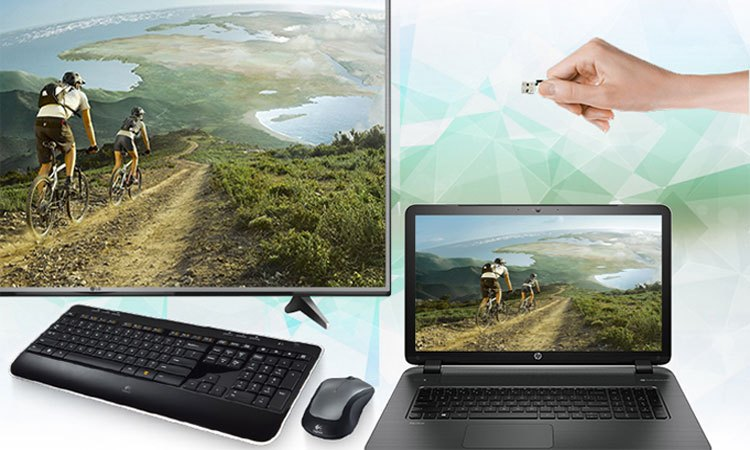 Kết nối nhanh chóng với các thiết bị trên tivi 4K 43inch LG 43UJ750T
