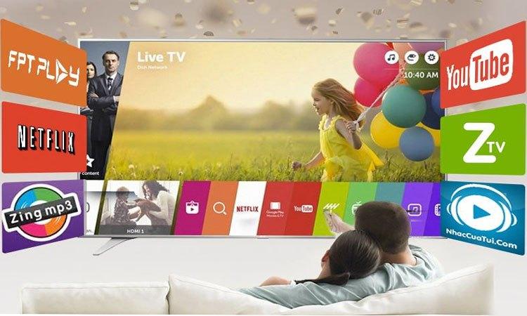 Smart tivi LG 43LJ614T.ATV 43 Inch trải nghiệm thú vị với giao diện hiện đại WebOS 3.5