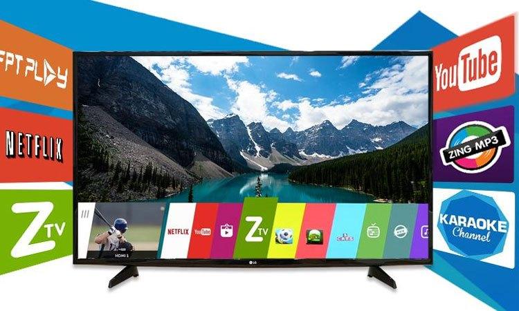 Smart tivi LG 43LJ614T.ATV 43 Inch thế giới giải trí bất tận