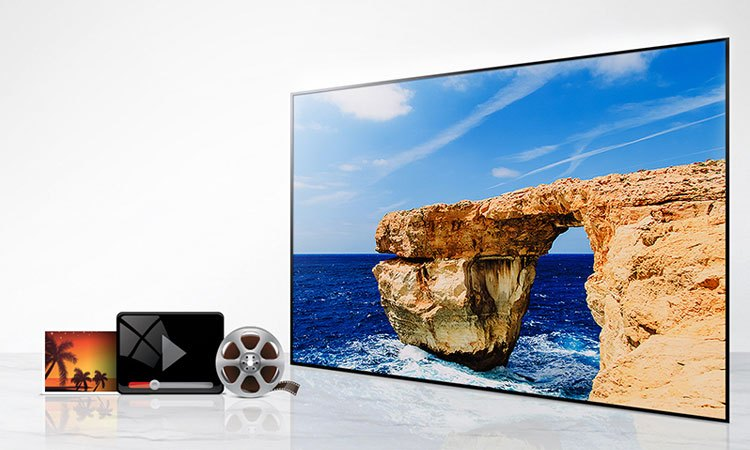 Tivi Led LG 43 inch 43LJ510T cho hình ảnh rõ nét cùng công nghệ xử lý hình ảnh Resolution Upscaler