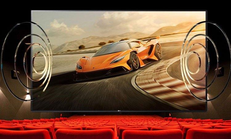 Công nghệ thể hiện âm thanh đầy sống động trên Tivi Led LG 49 inch 49LJ510T