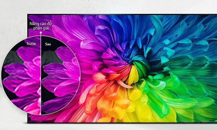 Hình ảnh có độ nét cao trên Tivi Led LG 43 inch 43LJ510T