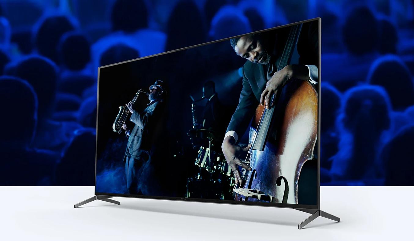 Android Tivi Sony 4K 43 inch KD-43X8050H VN3 - Thiết kế tinh tế, đường nét nhỏ gọn, phù hợp với mọi không gian