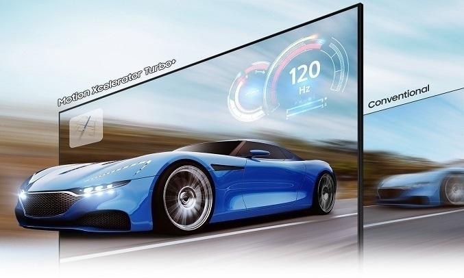 Smart Tivi QLED Samsung 4K 55 inch QA55Q80AAKXXV - Chiến game mượt mà