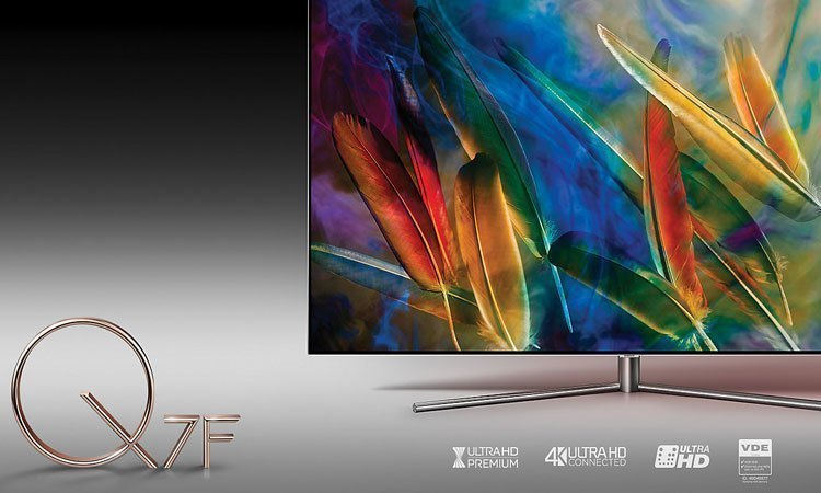 Tivi Led Samsung QA55Q7FAMKXXV 1 tỉ sắc màu ấn tượng