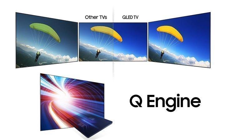 Tivi Led Samsung QA55Q7FAMKXXV hình ảnh chất lượng hoàn hảo