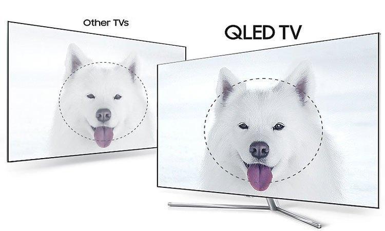 Tivi QLed Samsung UHD QA75Q7FAMKXXV trả góp không lãi suất