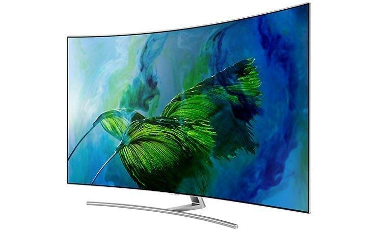 Tivi QLed Samsung UHD QA65Q8CAMKXXV màn hình cong 65 inches phân giải UHD