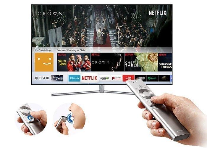Tivi QLed Samsung UHD QA75Q7FAMKXXV đầy tiện dụng với chức năng One Remote