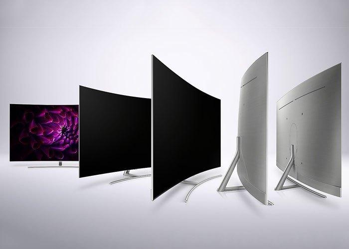 Tivi QLed Samsung UHD QA75Q8CAMKXXV màn hình cong 75 inches phân giải UHD