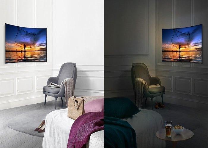Tivi QLed Samsung UHD QA75Q8CAMKXXV có độ tương phản ấn tượng