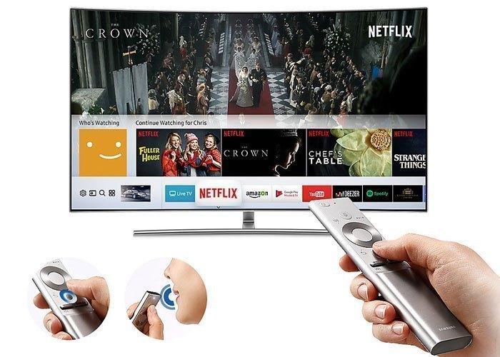 Tivi QLed Samsung UHD QA55Q8CAMKXX mang lại khả năng điều khiển tiện lợi