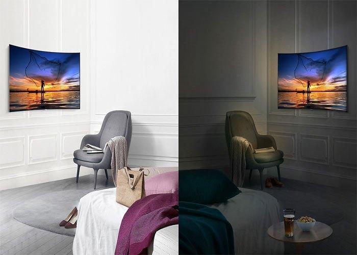 Tivi QLed Samsung UHD QA65Q8CAMKXXV có độ tương phản ấn tượng